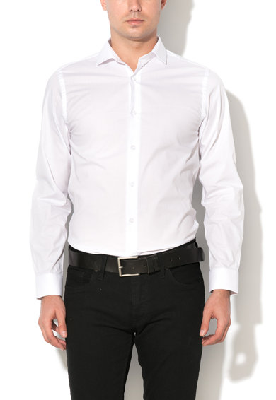 Camasa slim fit alba Pisa de la Selected Homme