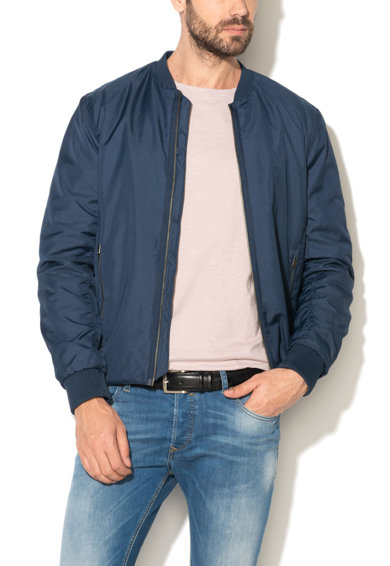 Jacheta bomber bleumarin Newlight de la Selected Homme