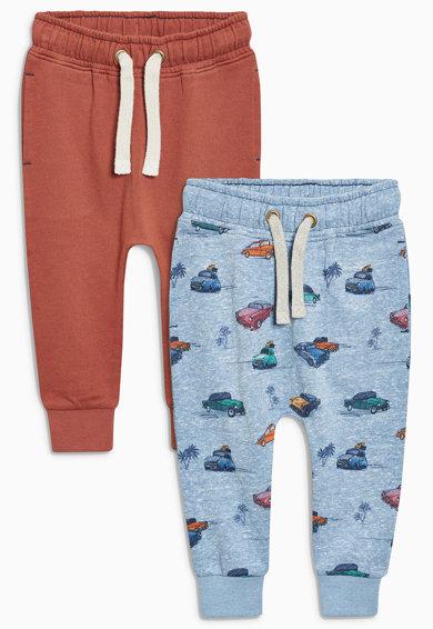 Set de pantaloni jogger multicolori – 2 perechi de la NEXT