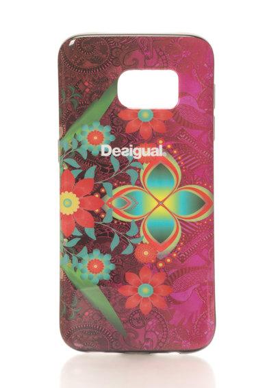 Carcasa pentru Samsung Galaxy 7 multicolora cu flori de la Desigual