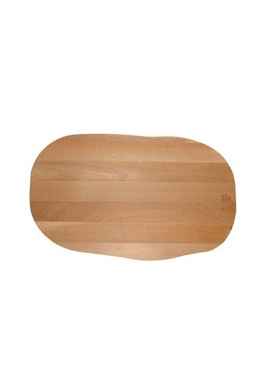 Tocator asimetric din lemn de fag de la Neon Living