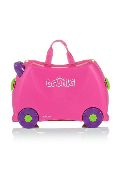 Geanta de voiaj ride-on roz cu violet Trixie de la Trunki