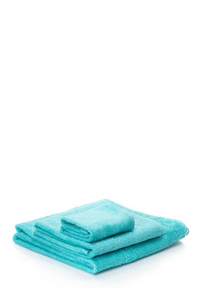 Set de prosoape albastru metalizat New Plus – 3 piese de la Sorema