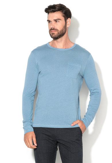 Bluza albastru stins Brook