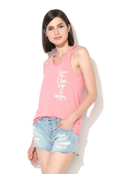 Top roz garoafa Excuse de la Only