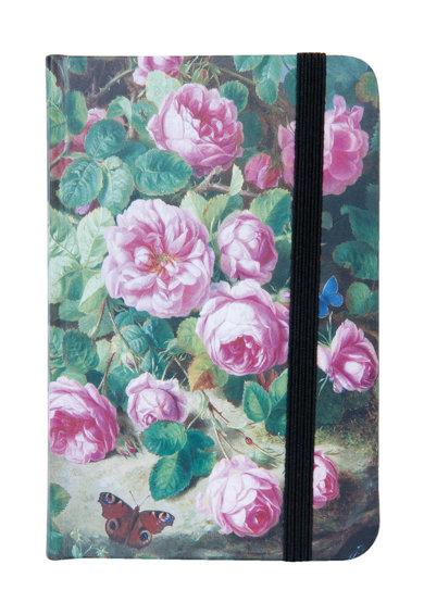 Carnetel multicolor cu model floral