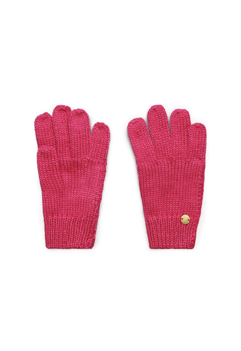 Manusi tricotate cu aplicatie logo de la Esprit