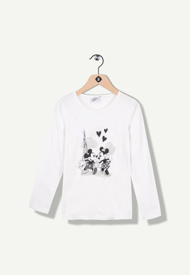 Bluza cu imprimeu cu Minnie si Mickey Mouse de la Z Kids