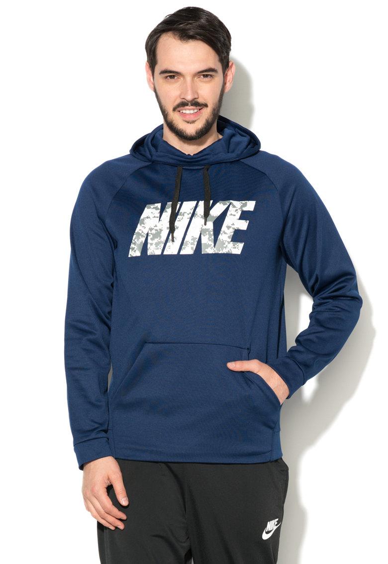 Hanorac cu imprimeu logo  Therma Dri de la Nike