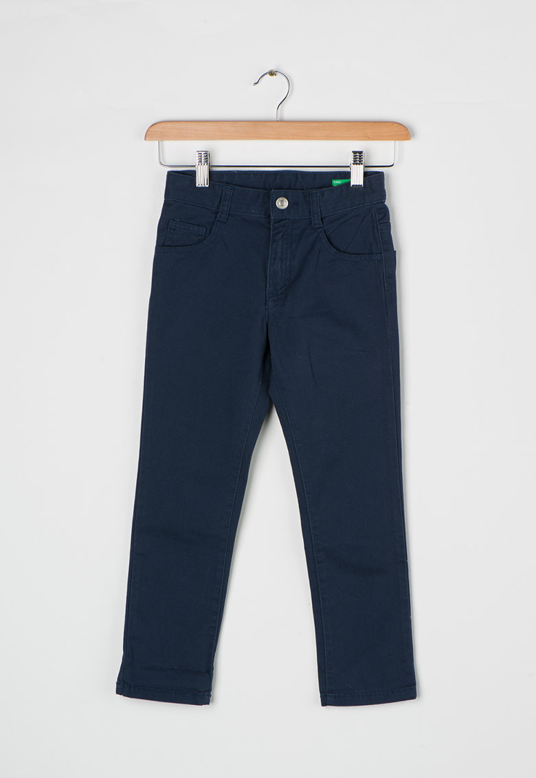 United Colors of Benetton Pantaloni skinny bleumarin