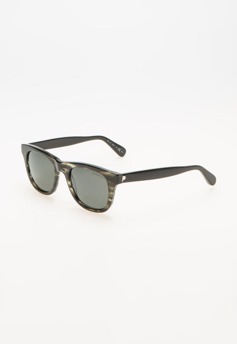 Polaroid Ochelari de soare cu lentile polarizate negru cu gri