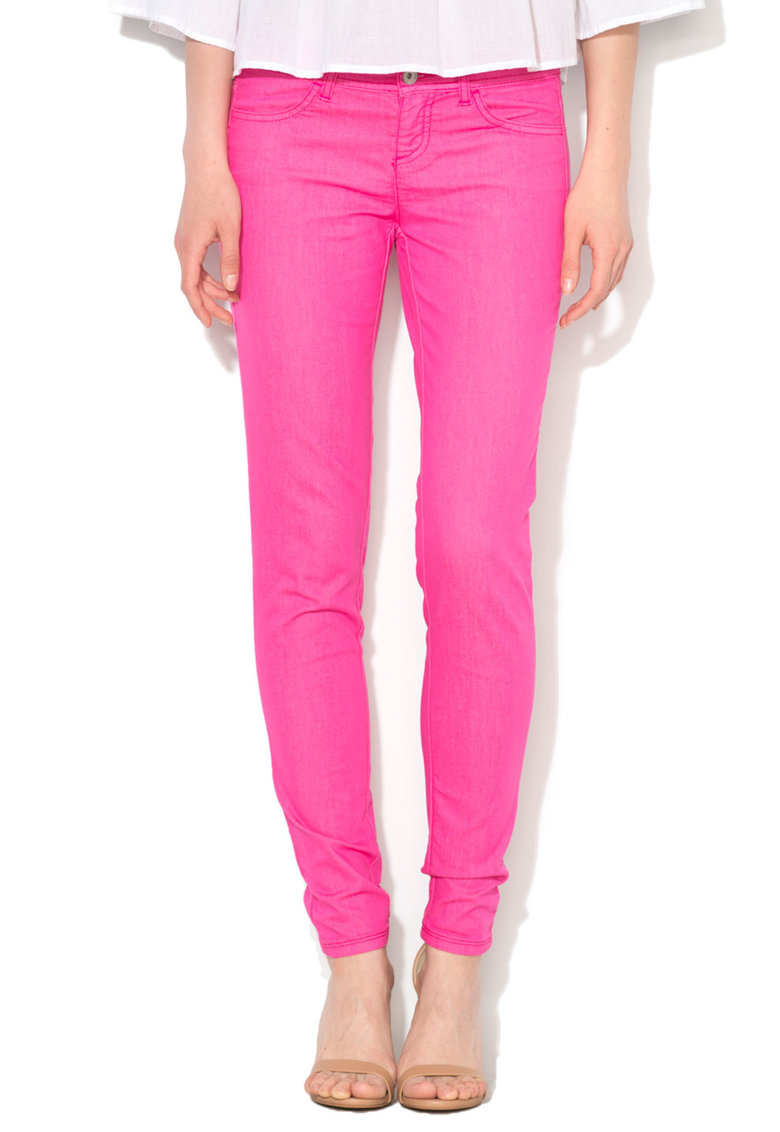 United Colors Of Benetton Jeansi skinny roz bombon