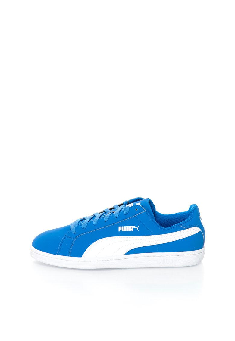 Puma Pantofi sport albastru cu alb Smash