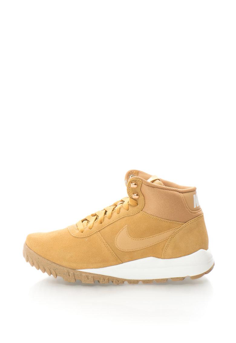 Nike Pantofi sport inalti de piele intoarsa Hoodland