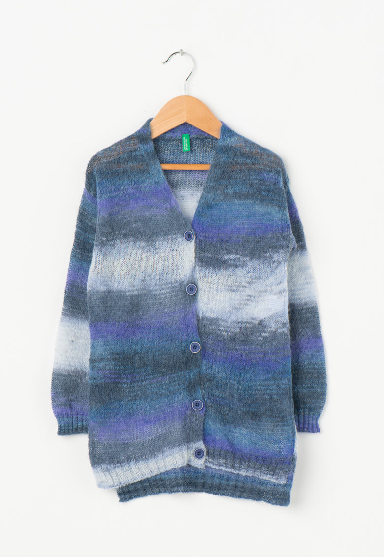United Colors Of Benetton Cardigan lung multicolor
