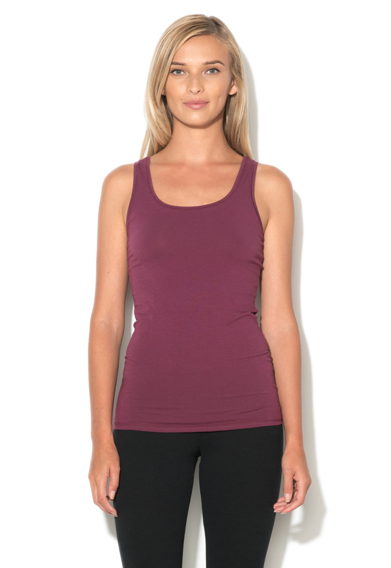 Undercolors of Benetton Top violet pruna