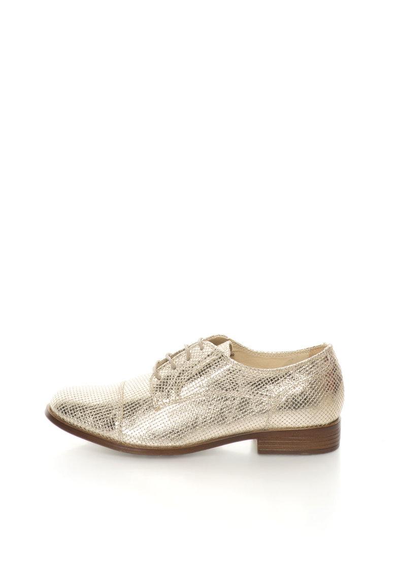 Zee Lane Pantofi Oxford auriu deschis Sibil