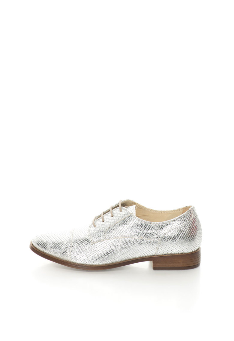 Zee Lane Pantofi Oxford argintii Sibil