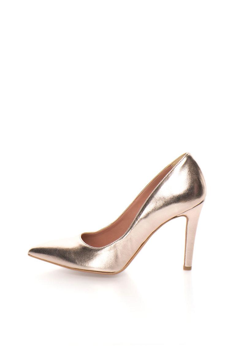 Zee Lane Pantofi auriu rose cu varf ascutit Anne
