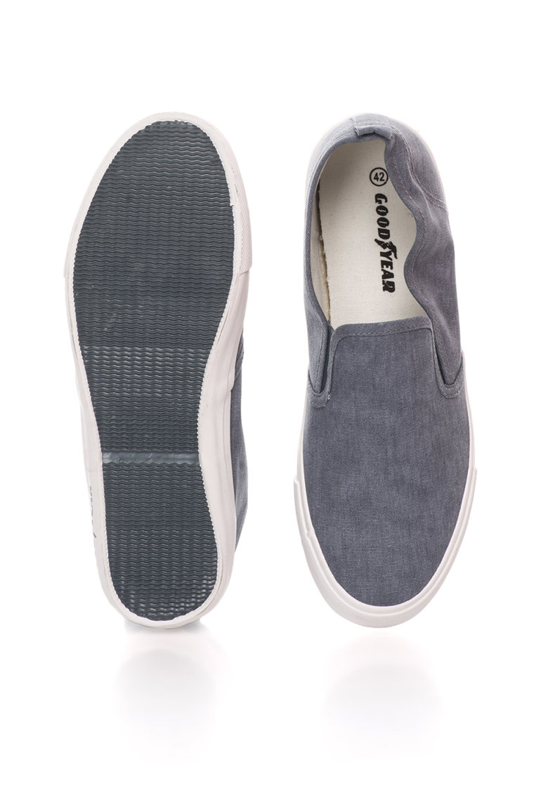 GOODYEAR Pantofi slip-on gri de fier de panza