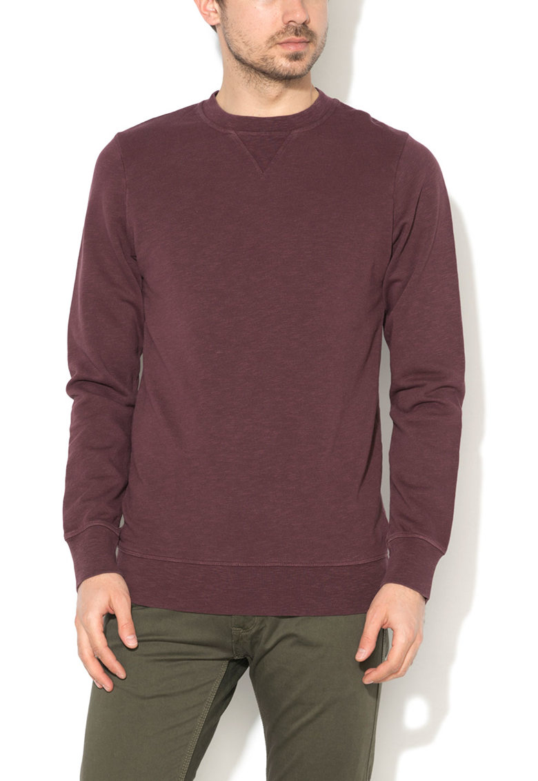 Bluza sport slim fit violet pruna
