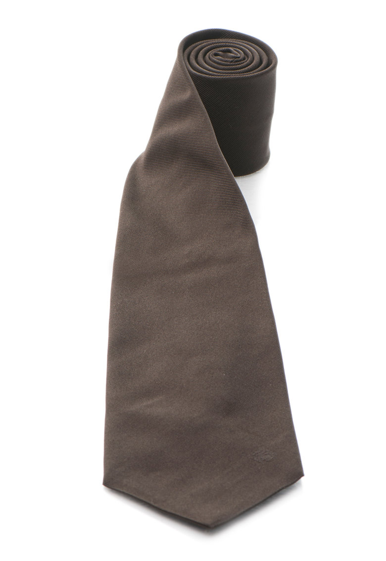 Roberto Cavalli Cravata de matase maro cafea