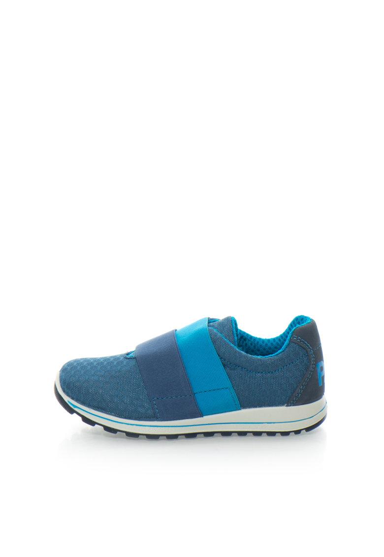 Primigi Tenisi albastri cu benzi elastice