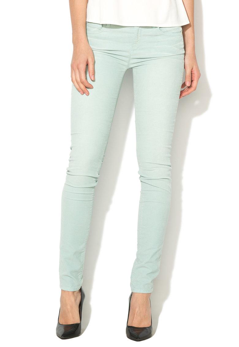 Juicy Couture Pantaloni skinny reiati albastru azur
