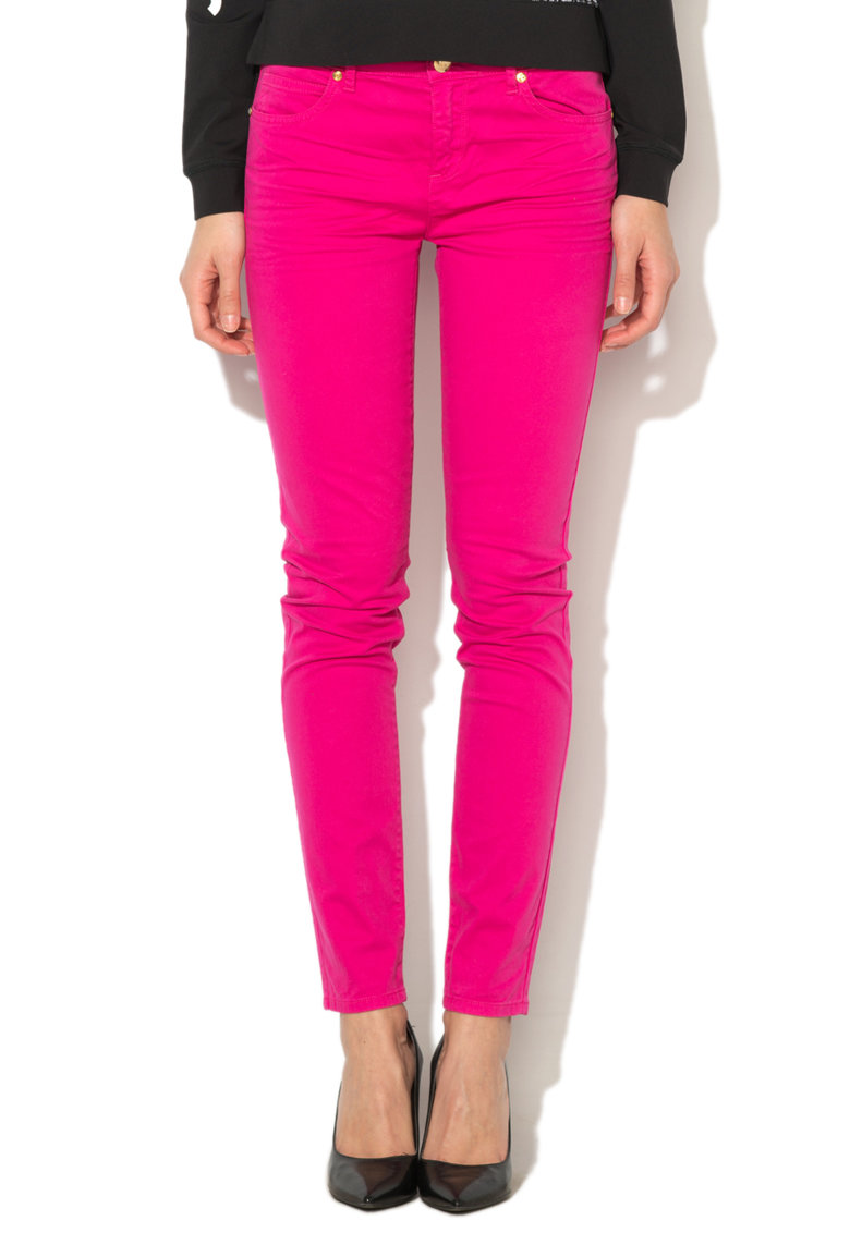 Juicy Couture Pantaloni skinny fucsia