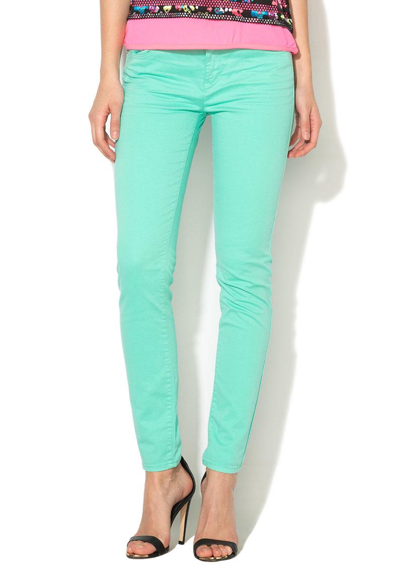 Juicy Couture Pantaloni skinny verde menta