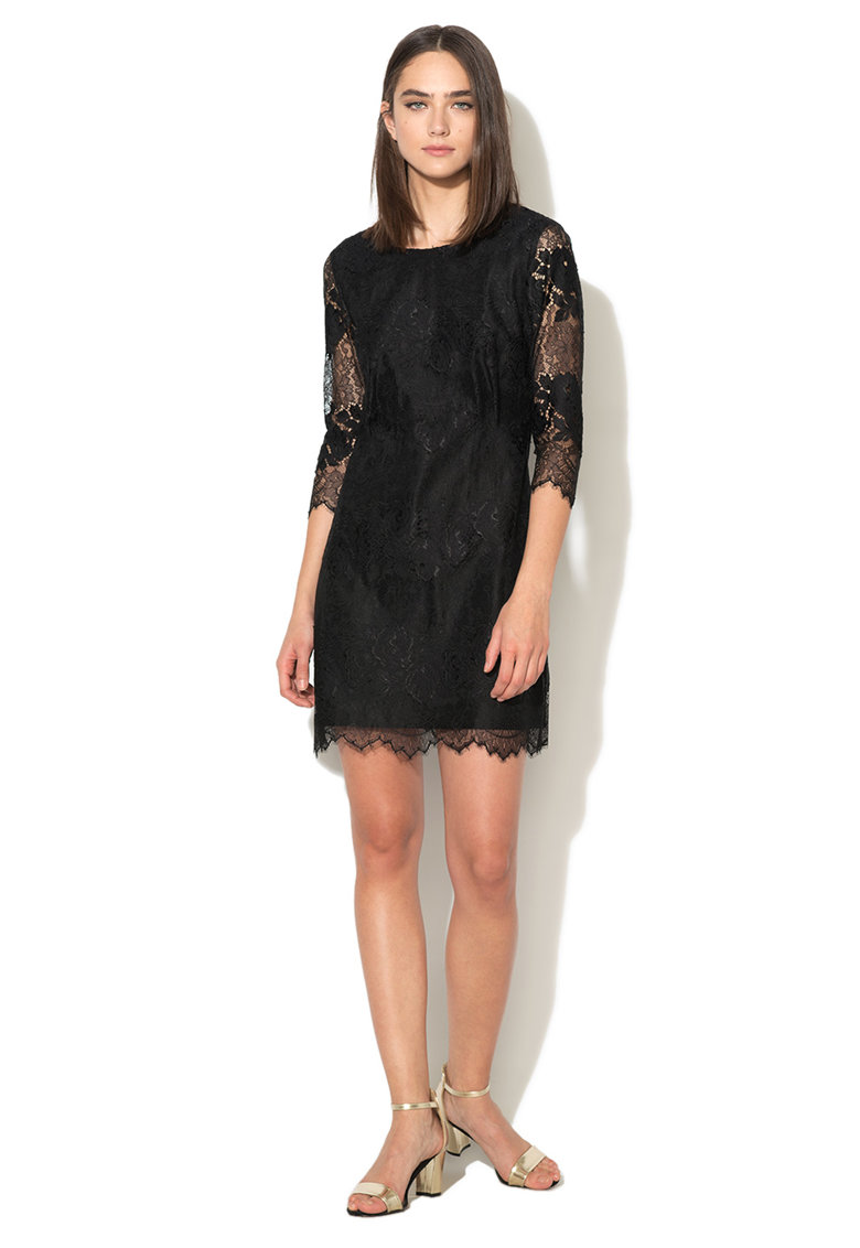 Juicy Couture Rochie neagra de dantela
