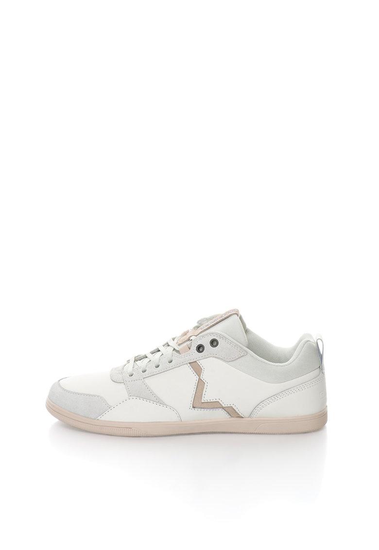 Diesel Pantofi sport alb cu gri S-Tage