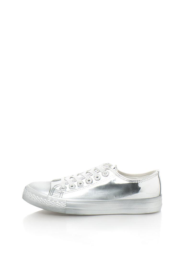 Oakoui Pantofi sport argintii