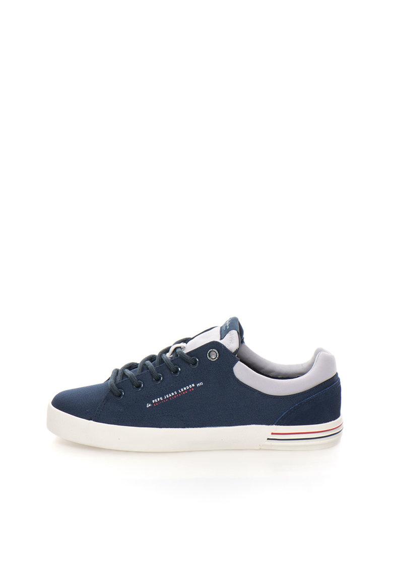 Pepe Jeans London Pantofi sport bleumarin de panza North