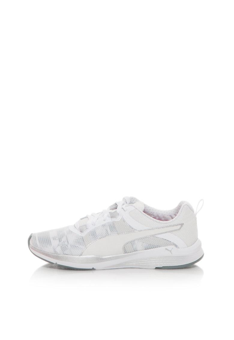 Puma Pantofi sport alb cu gri Pulse Ignite