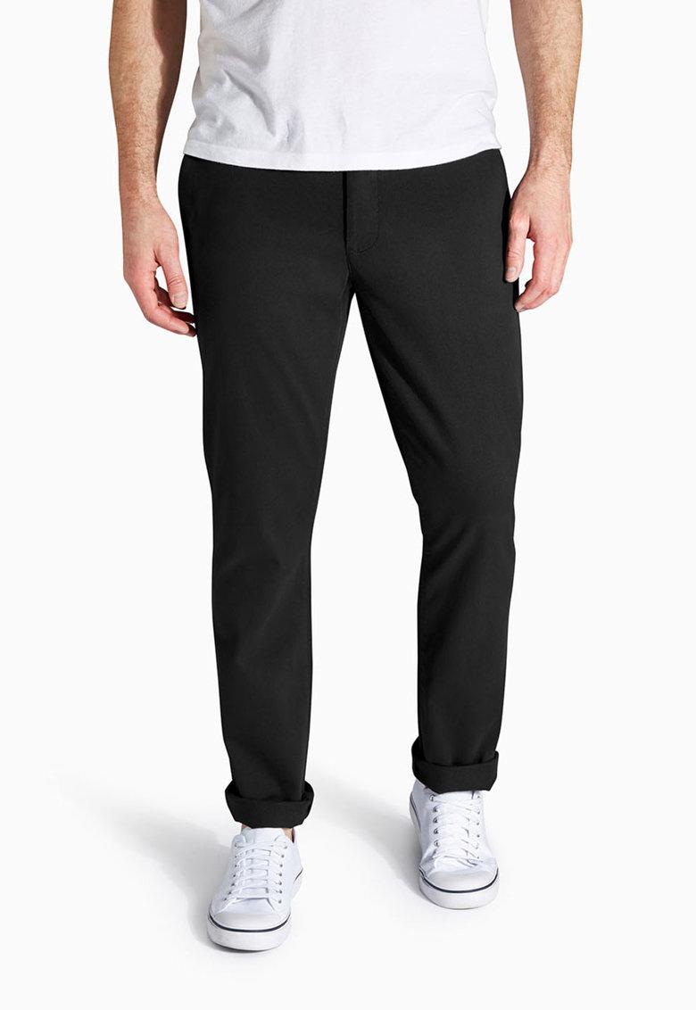 NEXT Pantaloni chino skinny negri