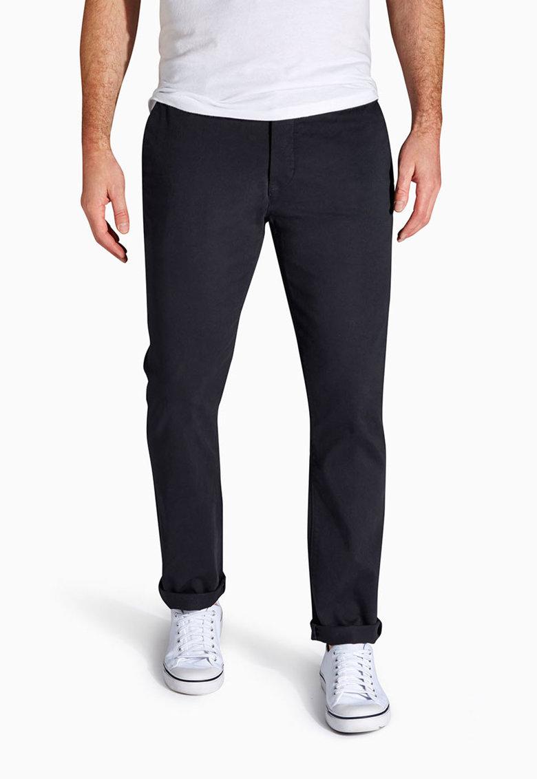 NEXT Pantaloni chino skinny bleumarin