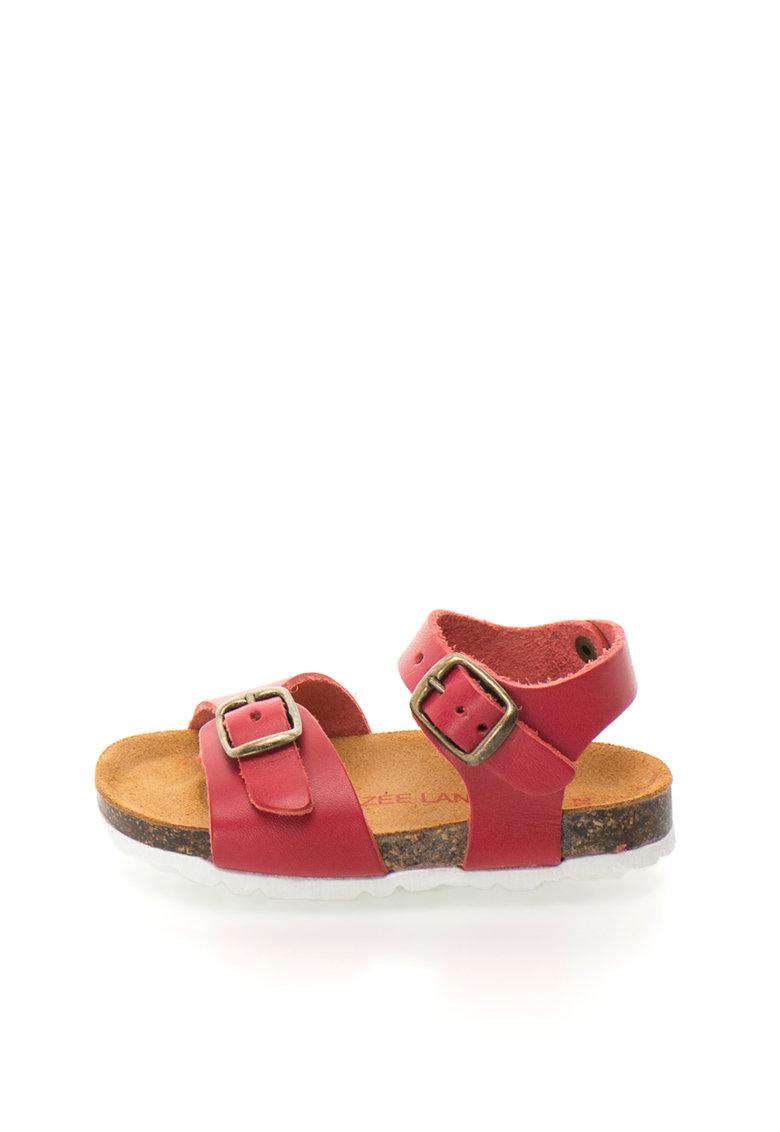 Zee Lane Sandale rosii de piele Alex