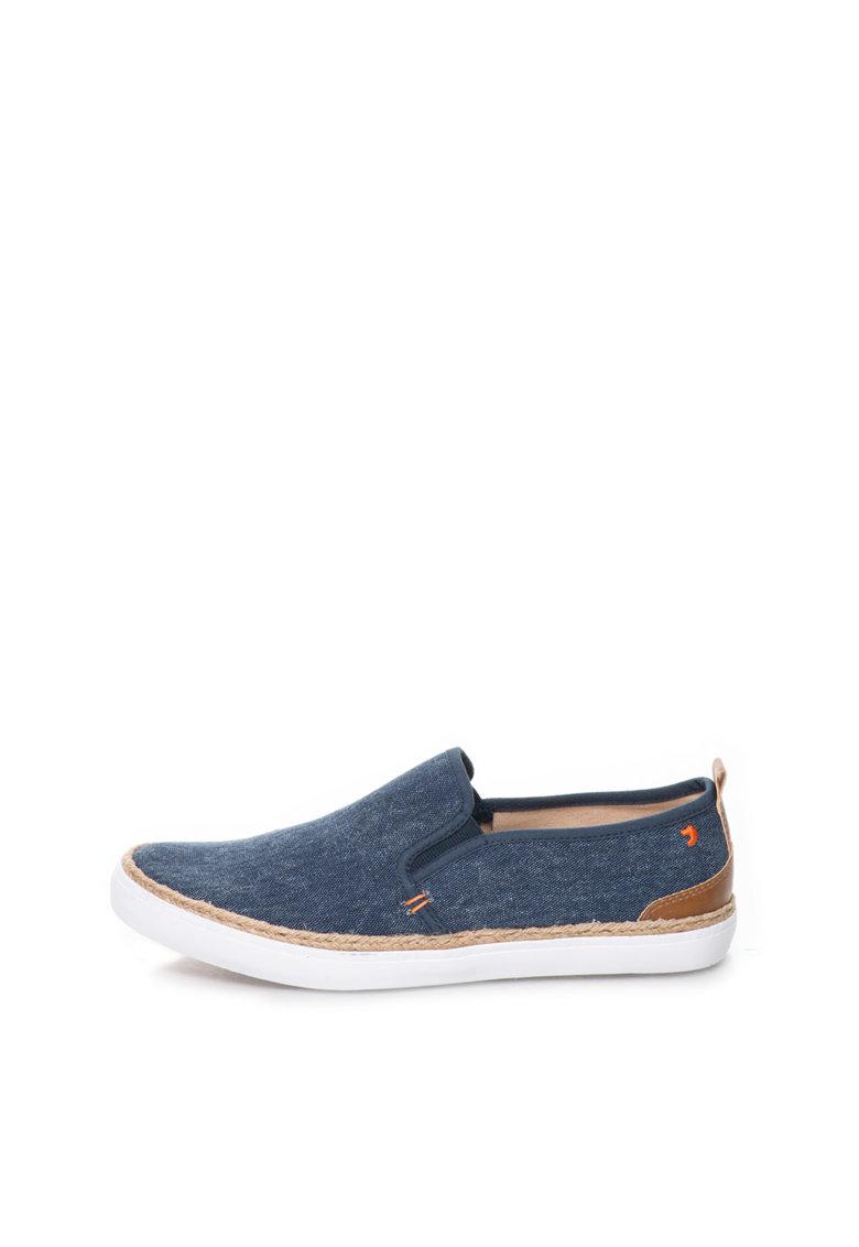 Gioseppo Pantofi slip-on bleumarin de panza Darrell