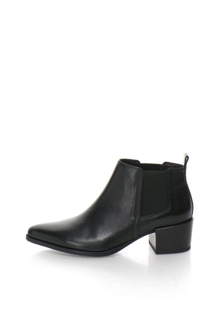 Vagabond Shoemakers Ghete Chelsea negre de piele