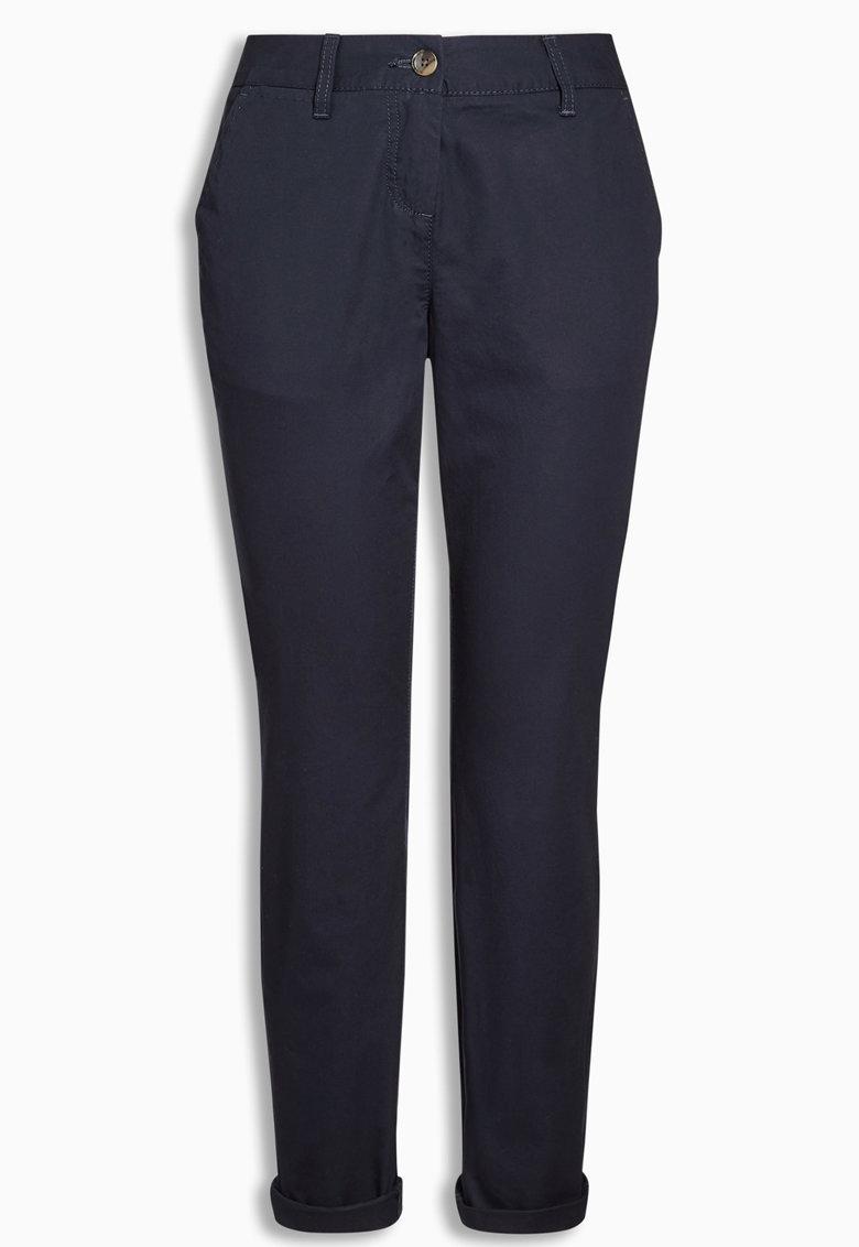 NEXT Pantaloni chino bleumarin