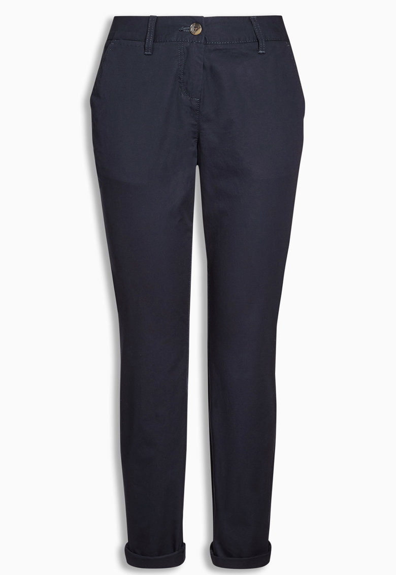 Pantaloni chino bleumarin