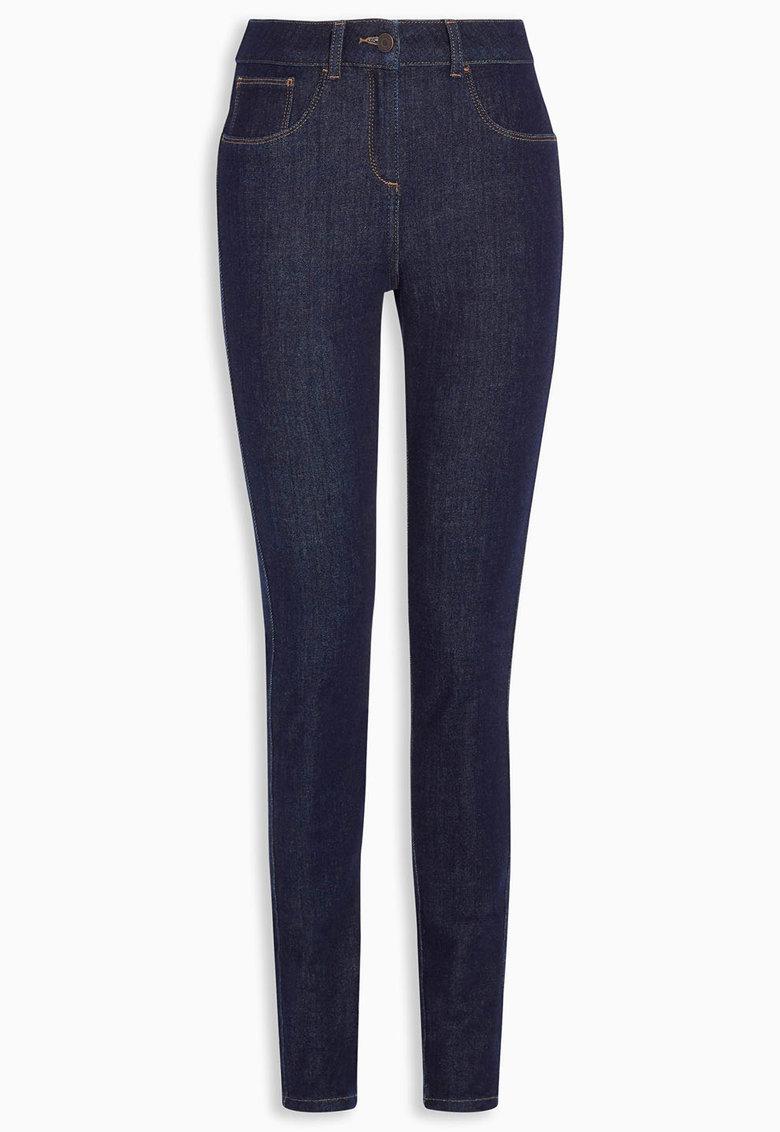 NEXT Jeansi albastru inchis super skinny fit 360°