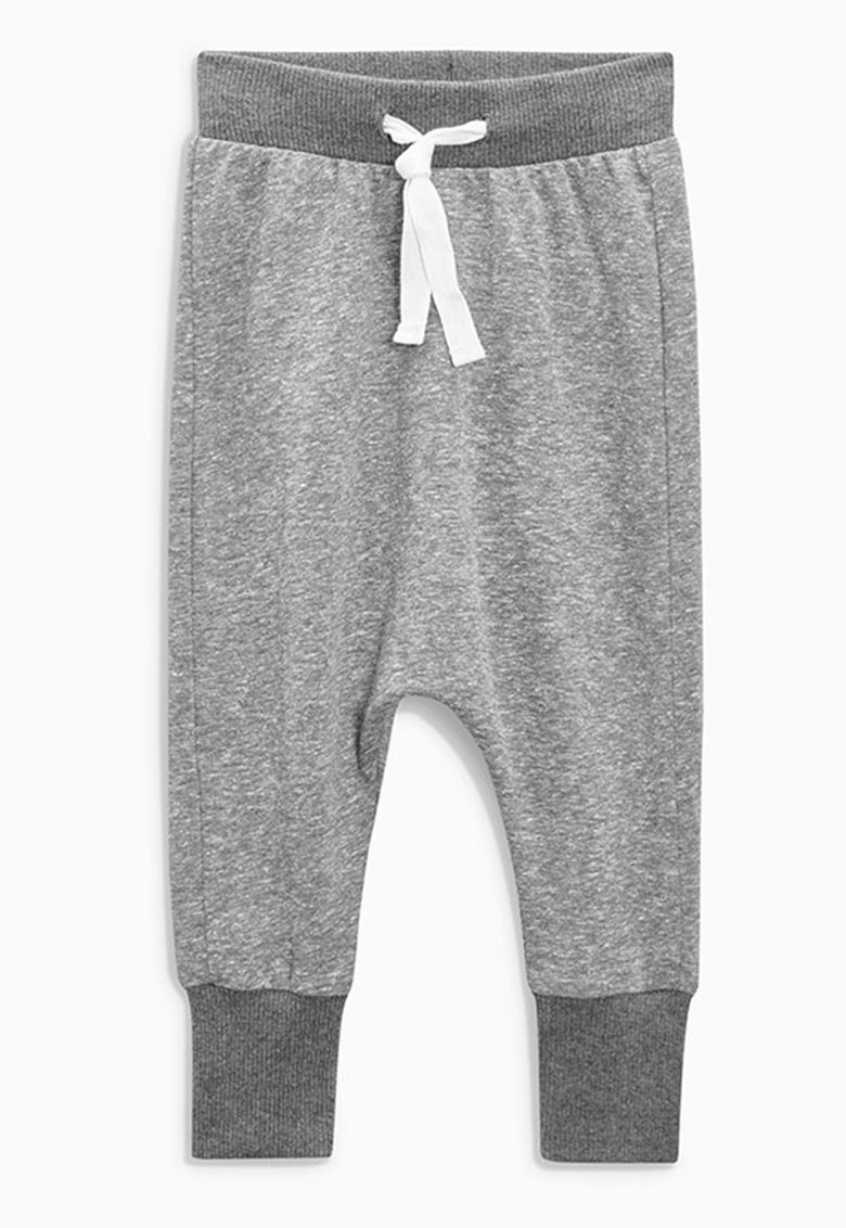 Pantaloni sport gri melange