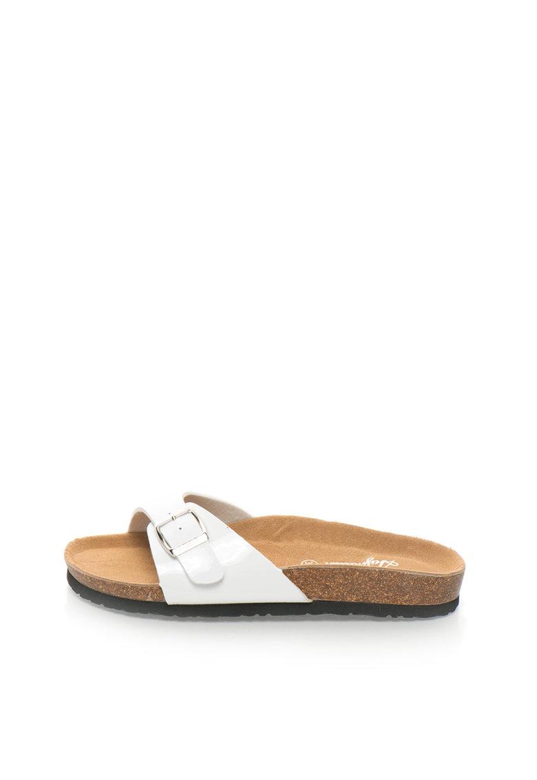 Australian Papuci albi lacuiti