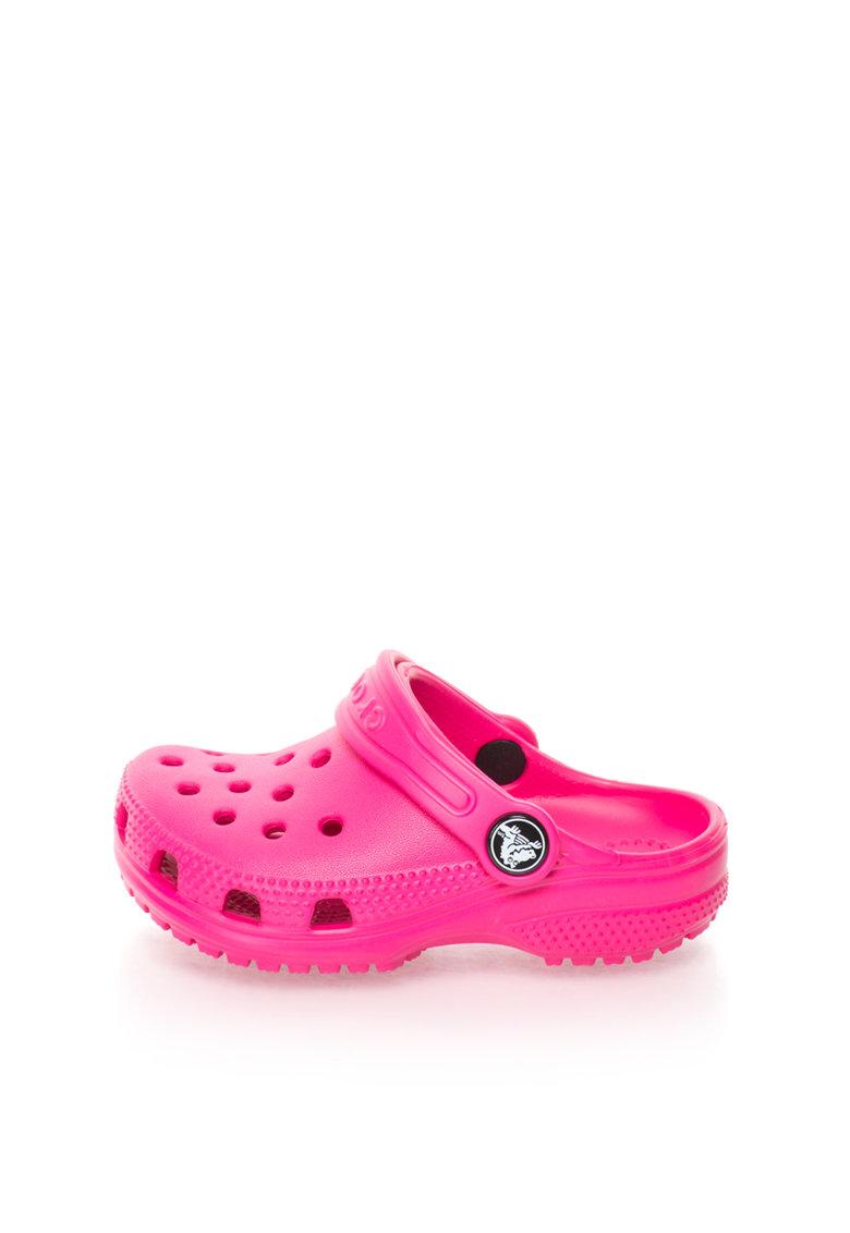 Crocs Sandale slingback roz bombon Classic