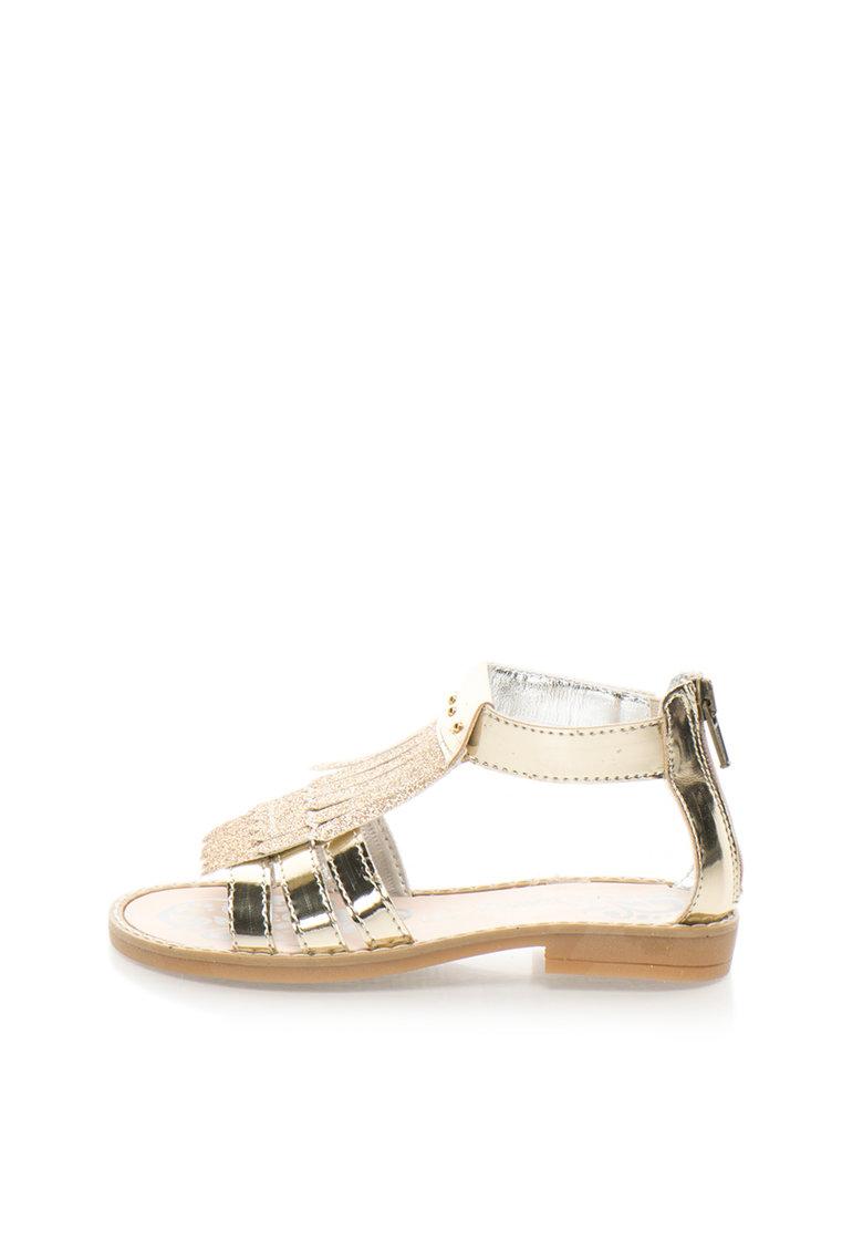 Sandale Auriu Deschis
