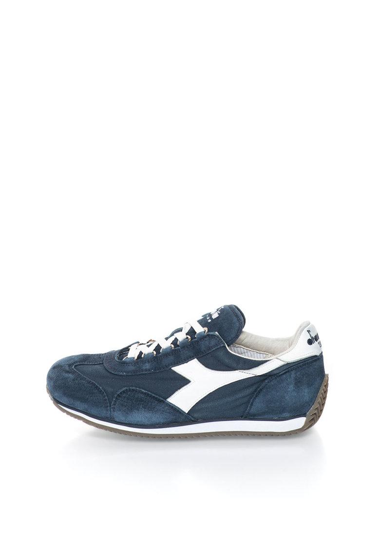 Diadora Heritage Pantofi sport bleumarin cu alb Equipe