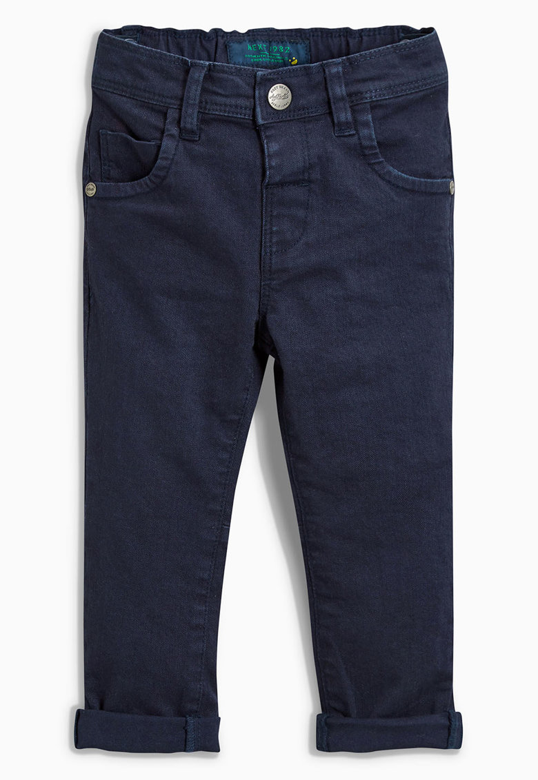 NEXT Jeansi slim fit albastru inchis