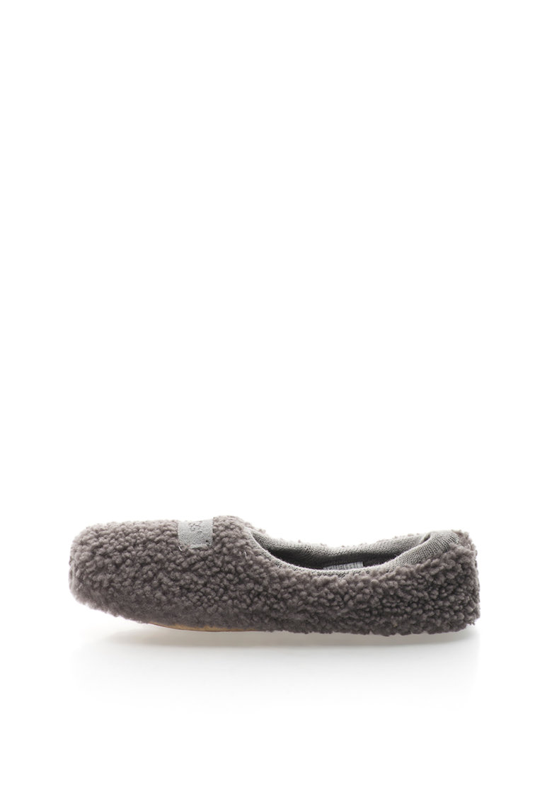 Papuci gri inchis de piele de oaie Birche de la UGG Australia